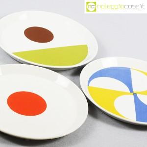 Ceramiche Franco Pozzi, set piatti serie Fantasia, Gio Ponti (6)