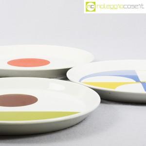 Ceramiche Franco Pozzi, set piatti serie Fantasia, Gio Ponti (7)