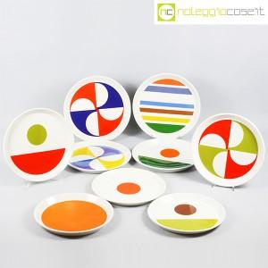 Ceramiche Franco Pozzi, set piatti serie Fantasia, Gio Ponti (9)