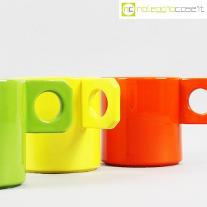 Il Picchio, set tazze colorate, Enzo Bioli (7)