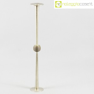 Sabattini, candeliere alto in metallo, Lino Sabattini (1)