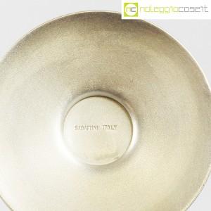 Sabattini, candeliere alto in metallo, Lino Sabattini (9)