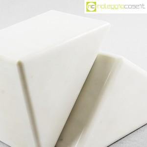 Ferma libri in marmo bianco (7)