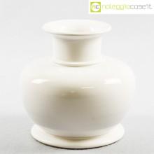 Ceramiche Bucci vaso bianco basso