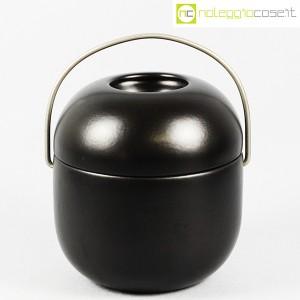 Ceramiche Franco Pozzi, contenitore Primaluna nero, Ambrogio Pozzi (1)