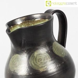 Tasca Ceramiche, brocca nera con manico, Alessio Tasca (5)