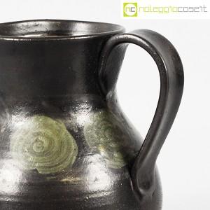 Tasca Ceramiche, brocca nera con manico, Alessio Tasca (6)