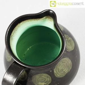 Tasca Ceramiche, brocca nera con manico, Alessio Tasca (7)