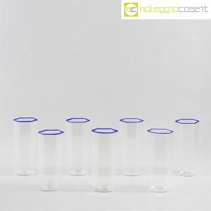 Venini, set bicchieri Esagonali, Carlo Scarpa (2)